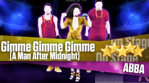 Gimme Gimme Gimme (A Man After Midnight) - On Stage Just Dance 2014