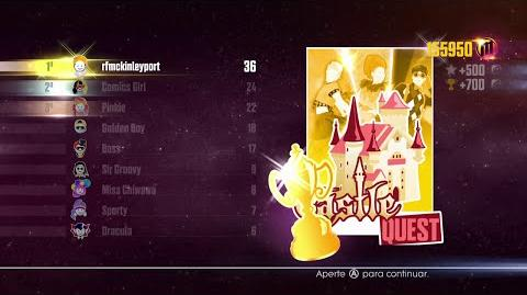 Just Dance 2016 - JD Unlimited Quest (Castle Quest - Dance Master) - 6 6