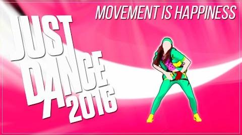 Just Dance 2016 - Movement Is Happiness - 5* Stars