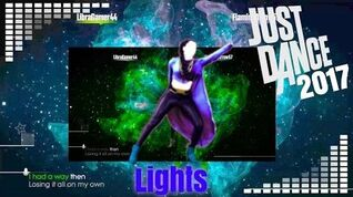 Just Dance 2017 unlimited Lights 5 stars