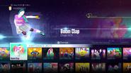Boomclapdlc jd2016 menu