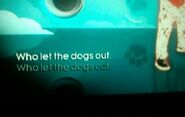 Who let the dogs out lyrics error