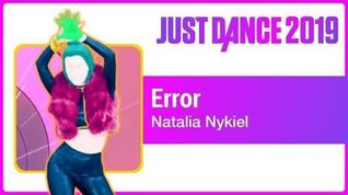 Error - Just Dance 2019