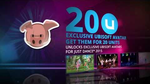 Just Dance 2015 - Exclusive Uplay Rewards UK