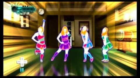 How does the training mode look on Just Dance Wii 2?