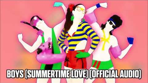 Boys (Summertime Love) (Official Audio) - Just Dance Music