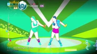 Just Dance 4 Run The Show 2 players 5 stars
