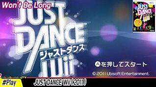 Just Dance Wii - Won't be long ( Wii, Jp ) Player Daddy 003