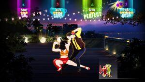 Bailando gameplay