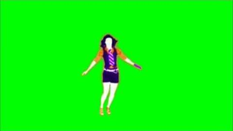 Just Dance Now - Barbra Streisand Green Screen Extraction