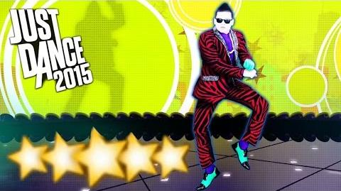 Gangnam Style - Just Dance 2015 - Full Gameplay 5 Stars