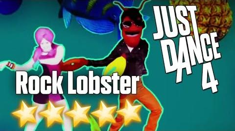 Just Dance 4 - Rock Lobster - 5 stars