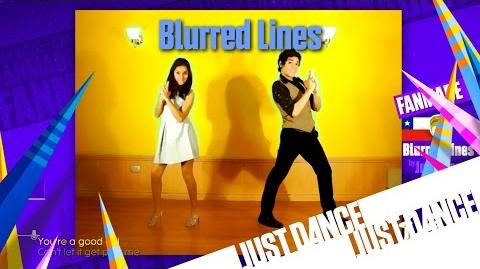 Just Dance Unlimited - Blurred Lines Fanmade