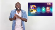 DanceQuest beta menu