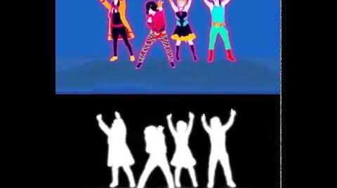 EXTRACT! I Was Made for Lovin' You - Kiss Just Dance 3