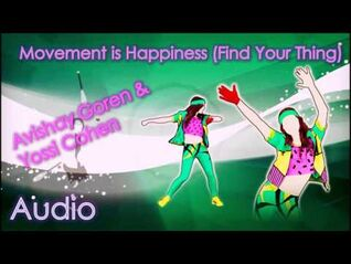 Movement Is Happiness - Avishay Goren & Yossi Cohen (Audio)