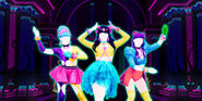 7 rings - Обложка Just Dance Now