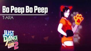 Bo Peep Bo Peep - Just Dance Wii 2