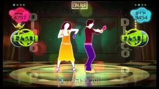 (FOR JDM345) Just Dance Wii Kimi Ni Bump 2 Players 4 stars wii