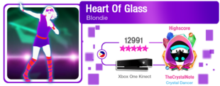 HeartOfGlass M617Score
