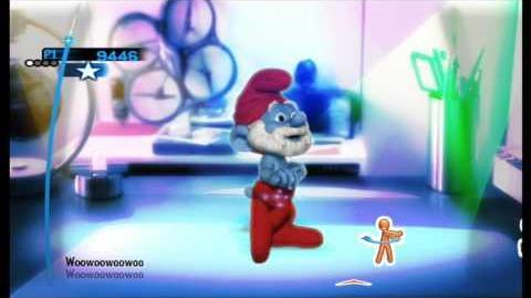 The Smurfs Dance Party Barbra Streisand