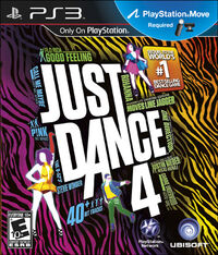 Just Dance 4, PS3 Cover