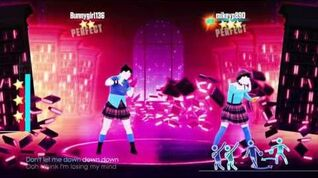 Just Dance 2017 Don't Let Me Down 2 players 5 stars superstar Nintendo switch