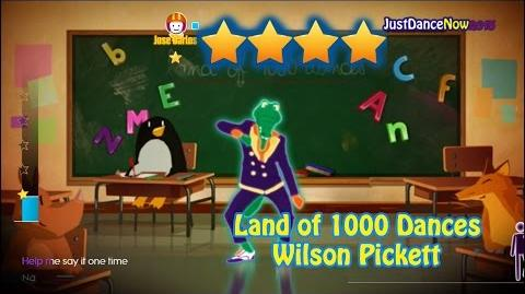 Just Dance Now - Wilson Pickett - Land of 1000 Dances 4* Stars