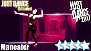 5☆ Stars - Maneater - Just Dance 2017 - Wii U