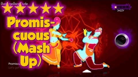 Just Dance 3 - Promiscuous (Dance Mash-Up) - Alternative Mode Choreography - 5* Stars