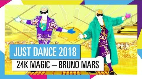 24K MAGIC – BRUNO MARS JUST DANCE 2018