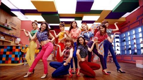 Girls' Generation 소녀시대 Gee Music Video (JPN ver.)