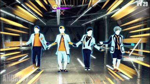 Growl 咆哮(EXO) Gameplay (1080p) - Just Dance Vitality School