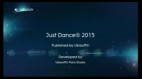 Just Dance 2015 Credits