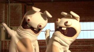 Uncut version - Wii the Raving Rabbids Ring My Bell from Just Dance game