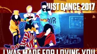Just Dance 2017 - I Was Made For Loving You by Kiss
