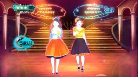 Sabishii Nettaigyo - Wink Just Dance Wii 2 Full Gameplay 5 Stars