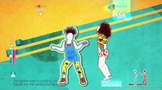 Just Dance 2014 Wii U Gameplay - Bob Marley You could be Loved