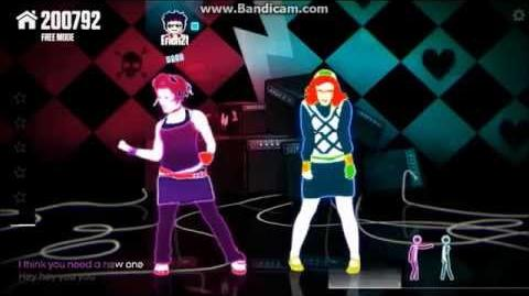 Just Dance Now - Girlfriend - Avril Lavigne