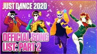 Official Song List (Part 2) - Just Dance 2020 (US)