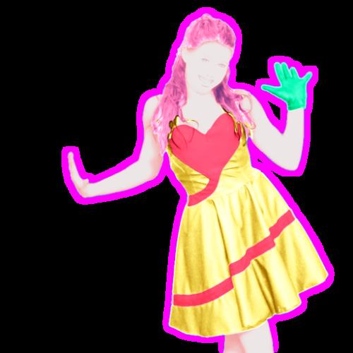 6e18b8d410 A dançarina é uma garota de eletrônica