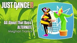 Just Dance 2018 (Unlimited) All About That Bass - Alternate (Versão jardim)