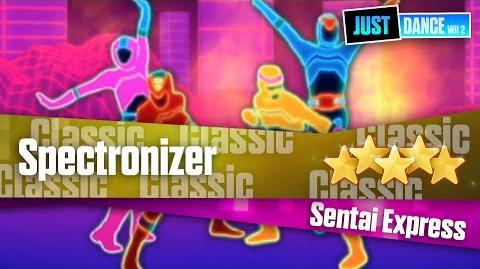 Spectronizer - Sentai Express Just Dance Wii 2