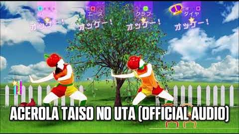 Acerola Taiso no Uta (Official Audio) - Just Dance Music