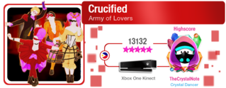 Crucified M617Score