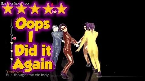Just Dance 4 - Oops I Did It Again - 5* Stars