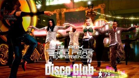 Disco Club - The Black Eyed Peas Experience (Xbox)