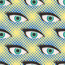 46666764-Pop-art-style-halftone-close-up-eyes-pattern-Dotted-yellow-and-blue-background--Stock-Vector