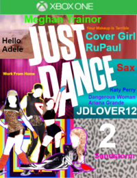 Just Dance JDLOVER12 2 XboxOne Game Cover