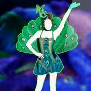 Peacock Realness4Square